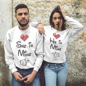 Partners in crime sweater partners in crime funny couples sweater partners in crime sweater trendy couples sweater partners in crime s 171