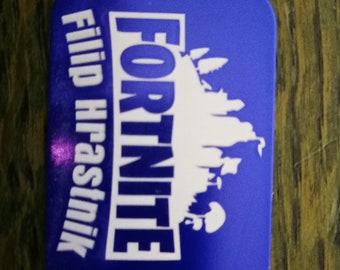Fortnite Dog Tag Etsy