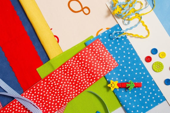 Kids Fabric Scraps Kid Accessories And Kid Wallpaper Remnants For Diy Projects