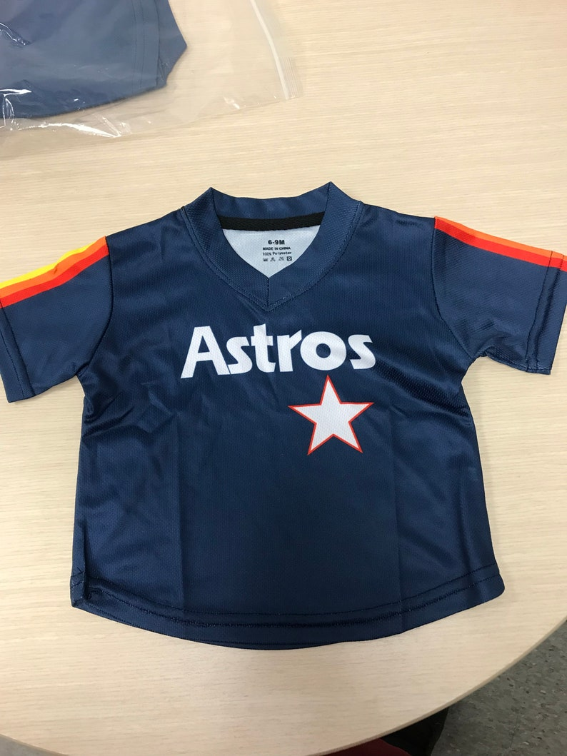new style 6b4ce 5ec5c Houston Astros Throwback Baby Jerseys 6/9 months, 12 montha , 18 months and  more