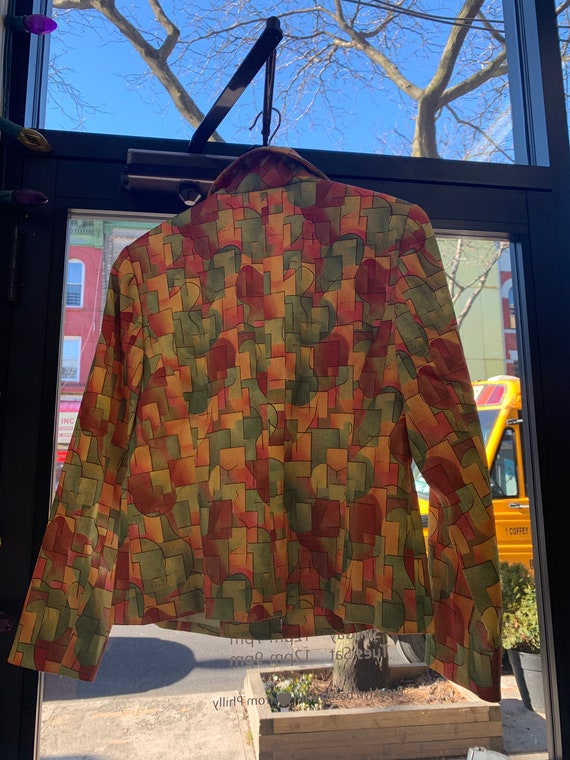 Vintage Deadstock Printed Jacket