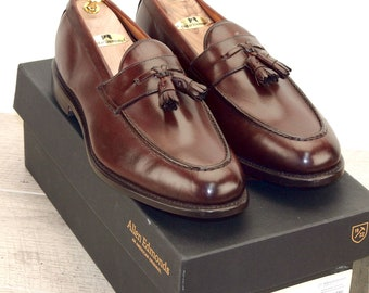 New * Allen Edmonds WINGHAM Coffee 11 C * new Bags (add 15 new trees) orig price was 395