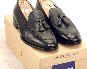 New * Allen Edmonds PERUGIA Black 9 EEE * new Bags (add 15 new trees) orig price was 395