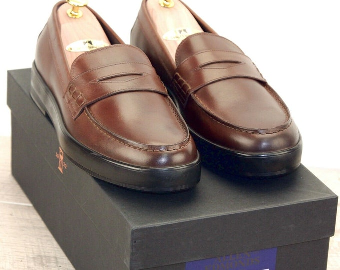 New * Allen Edmonds DRIGGS LOAFER 10 D Coffee * new Bags (add 15 new trees) orig price was 395