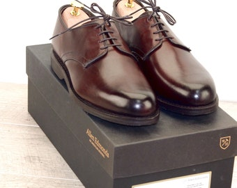 New * Allen Edmonds LAX Derby Dark Chili 8.5 D * new Bags (add 15 new trees) orig price was 395