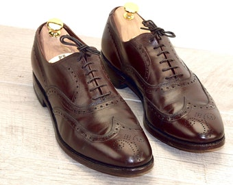 Allen Edmonds CHESTER Brown 8.5 C