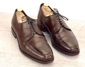 Allen Edmonds LASALLE Brown 10.5 E