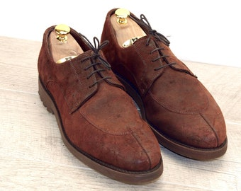 Allen Edmonds MALONE Brown Roughout 10 D