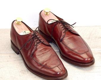 ecb7583320cb5 Allen Edmonds DELRAY 8.5 D Chili w   new  Shoe Trees AE Bags Laces + the  original price was 425
