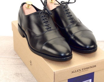 New * Allen Edmonds BOND STREET 8.5 EEE Black * new Bags (add 15 new trees) orig price was 395