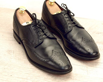 Allen Edmonds STUTTGART Black 10 D