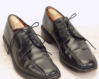 Allen Edmonds HILLCREST Black 9 A w/ AE Cedar Shoe Trees AE Bags new Laces + orig price was 395