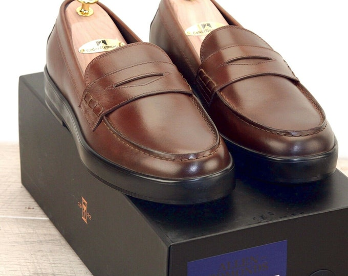 New * Allen Edmonds DRIGGS LOAFER 9.5 D Coffee * new Bags (add 15 new trees) orig price was 395