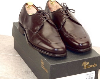 New * Allen Edmonds BURTON 8.5 EEE Brown * new Bags (add 15 new trees) orig price was 395