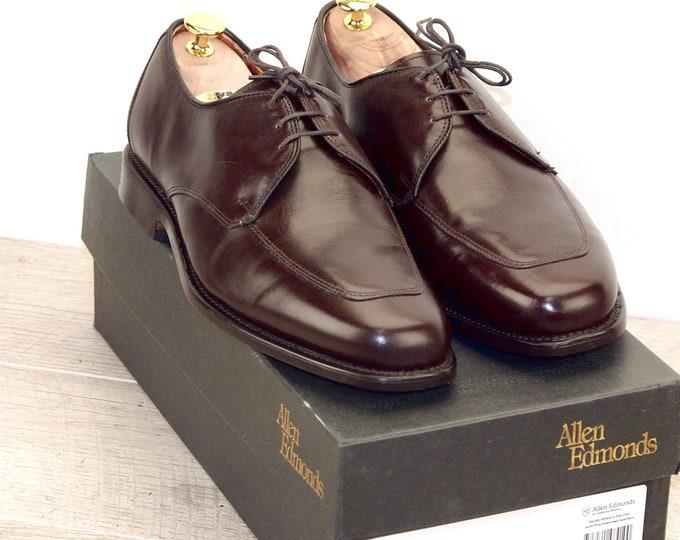 New * Allen Edmonds BURTON 8.5 EEE Brown * new Bags (add 15 new trees) orig price was 395