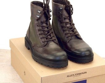 New * Allen Edmonds RANGER BOOT Brown/Olive 9 D * new Bags (add 15 new trees) orig price was 395
