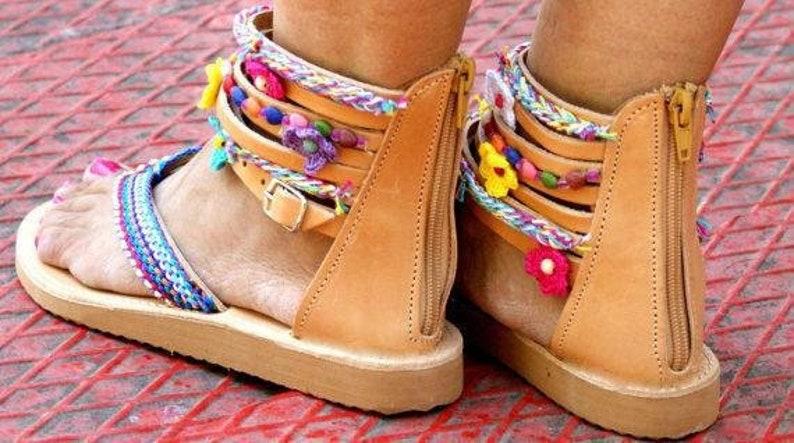 5fdc5982d659 MARGARITA  bohemian gladiator sandals  boho sandals  ethnic