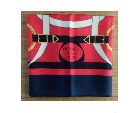 Hermes Eperon d'Or scarf, Hermes silk scarf, herme