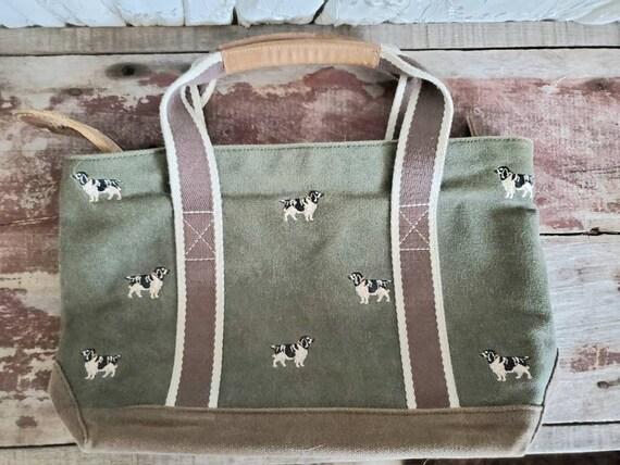 Vintage LL Bean tote bag