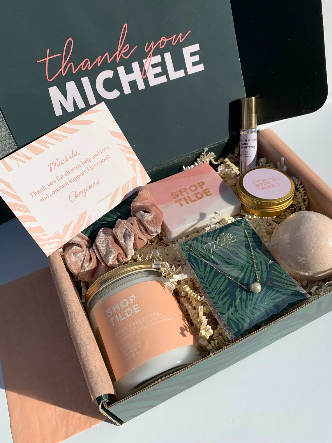 Candle Spa Gift Box
