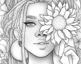Premium Coloring Pages Svg Files By Doaamoazprints On Etsy