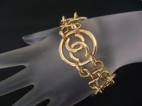 chanel vintage cc Link Bracelet - image 1
