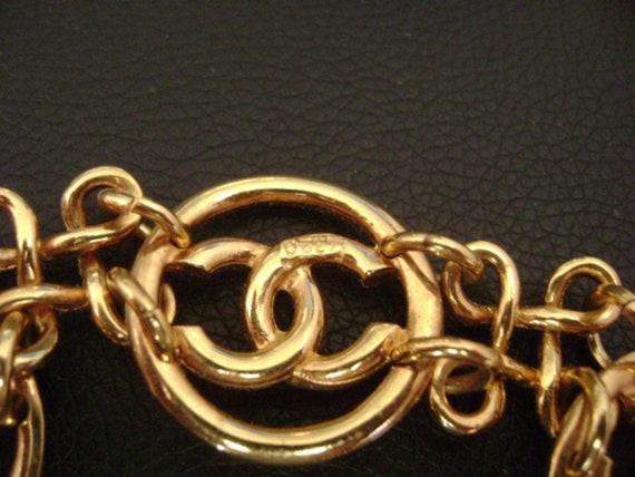 chanel vintage cc Link Bracelet - image 7