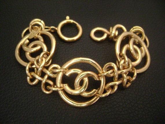 chanel vintage cc Link Bracelet - image 2