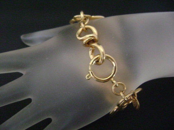 chanel vintage cc Link Bracelet - image 10