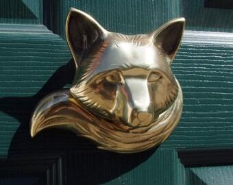 Fox Door Knocker (Standard)