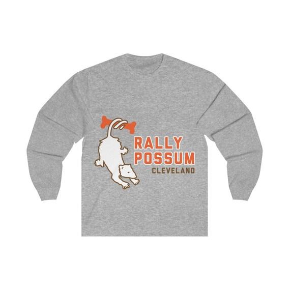 Grey Rally Possum Unisex Long Sleeve Tee