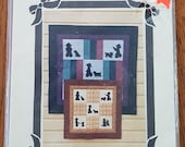 9 - Patch Ned Wall Quilt Pattern, Amish or English in 2 Sizes