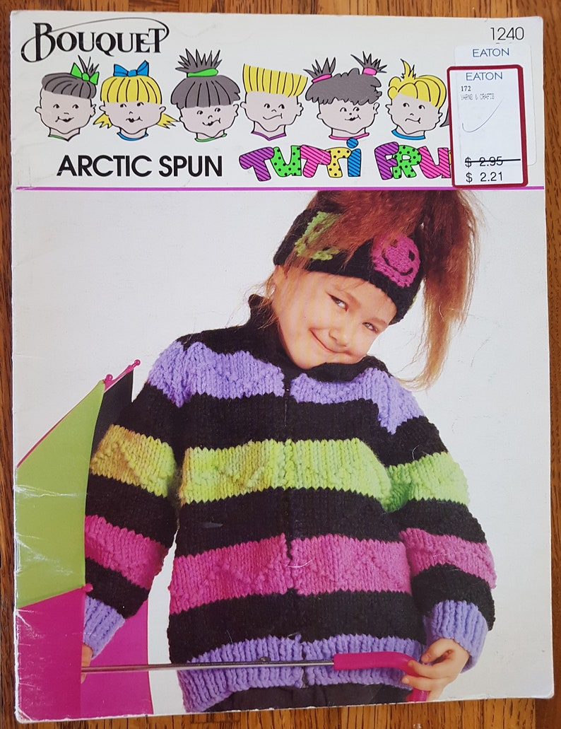 1e4c067d4 Children s Sweater and Cardigan Bouquet Artic Spun Tutti