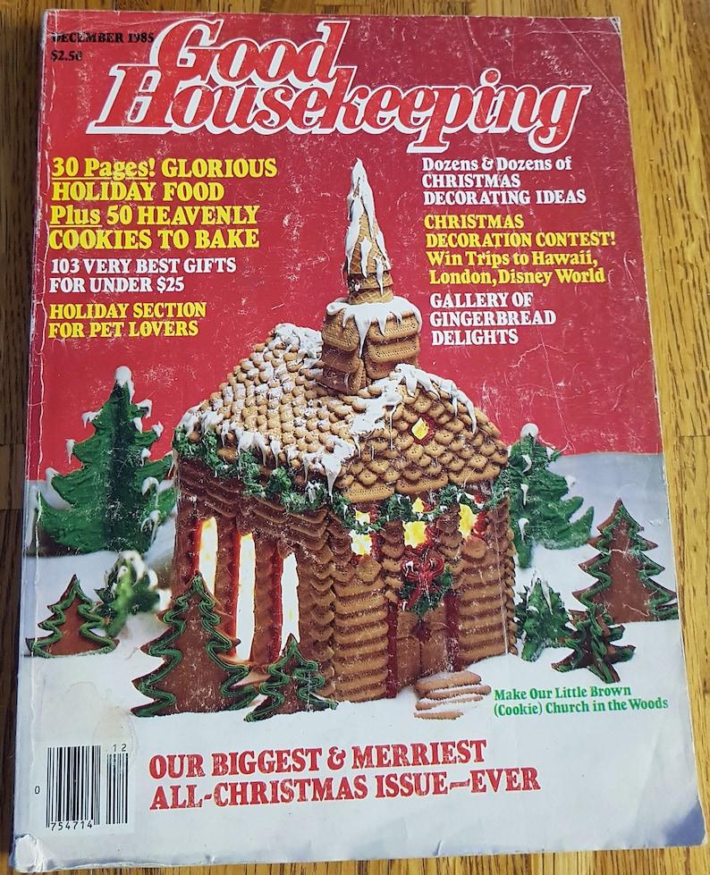 Good Housekeeping Magazine Vol 201 No 6 Vintage Christmas Dec 1985