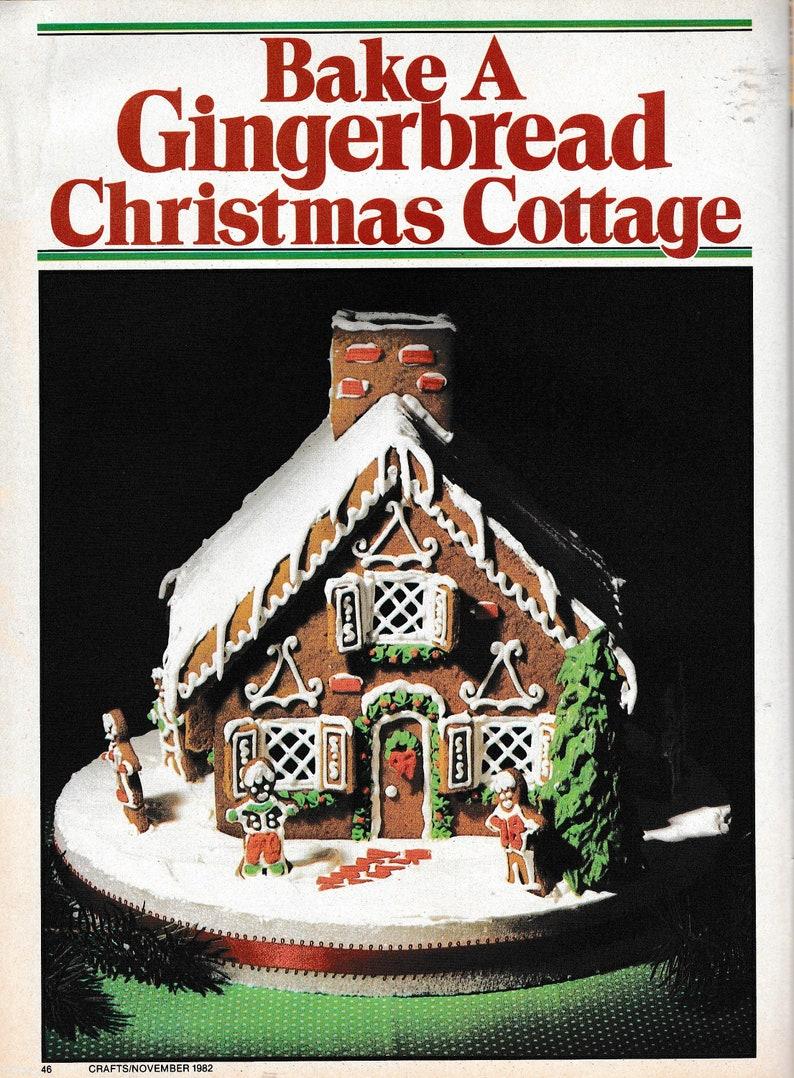 Stockings Ornaments Crafts Magazine Vol 5 No 11 November 1982 Christmas Wreaths