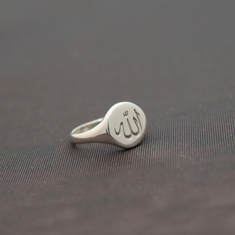 Arabic  Name Ring-Custom Arabic Signet Ring-Name Jewelry-Personalized Arabic Ring-Personalized Jewelry-Personalized Gift-Bridesmaig Gift-