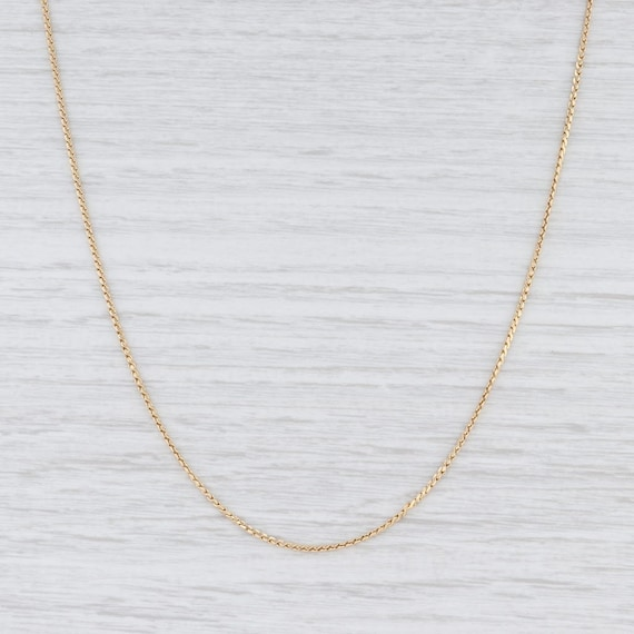 S-Link Chain, S-Link Necklace, Yellow Gold Chain,