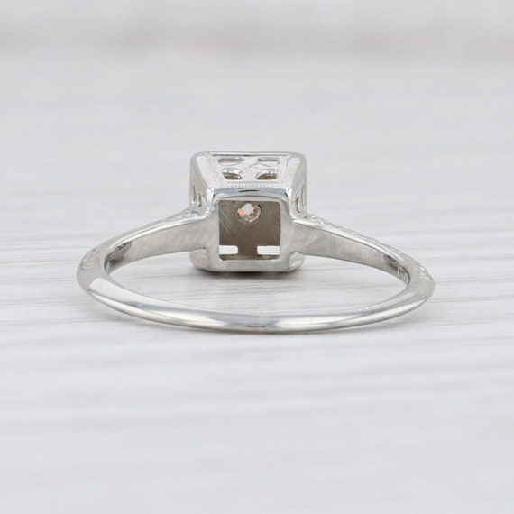 Vintage Diamond Ring, Ostby Barton Ring, Diamond … - image 4