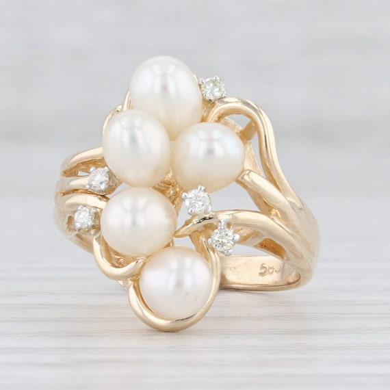 Cultured Pearl Ring, Freshwater Pearl Ring, Pearl