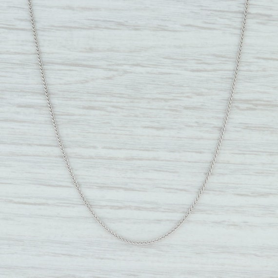Round Wheat Chain Necklace, Wheat Chain Necklace,