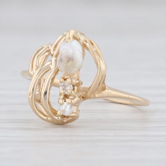 Freshwater Pearl Ring, Cultured Pearl Ring, Pearl