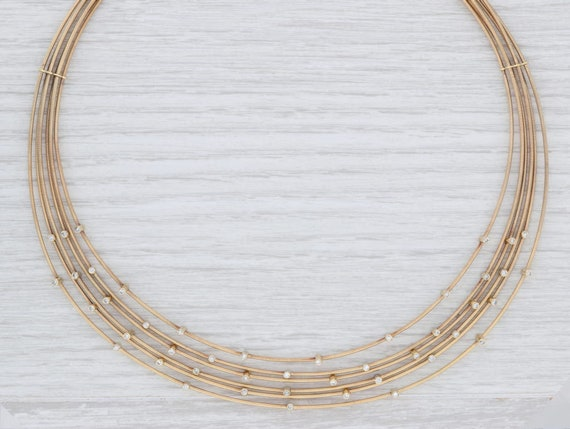 Vancox Necklace, Diamond Necklace, Orbit Collar Ne