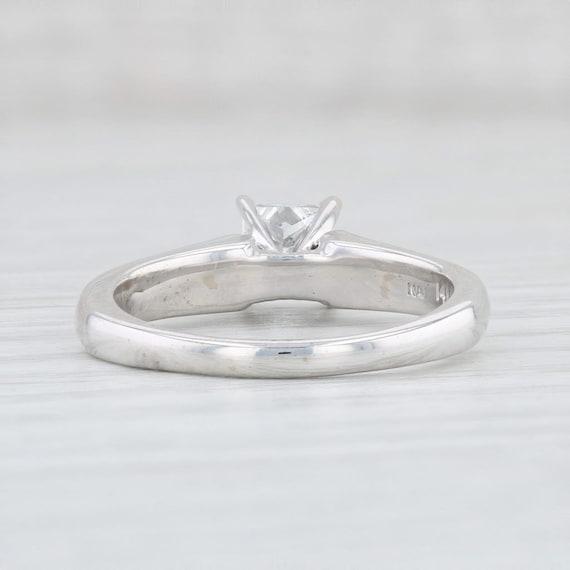 Diamond Engagement Ring, Princess Cut Ring, Solit… - image 4