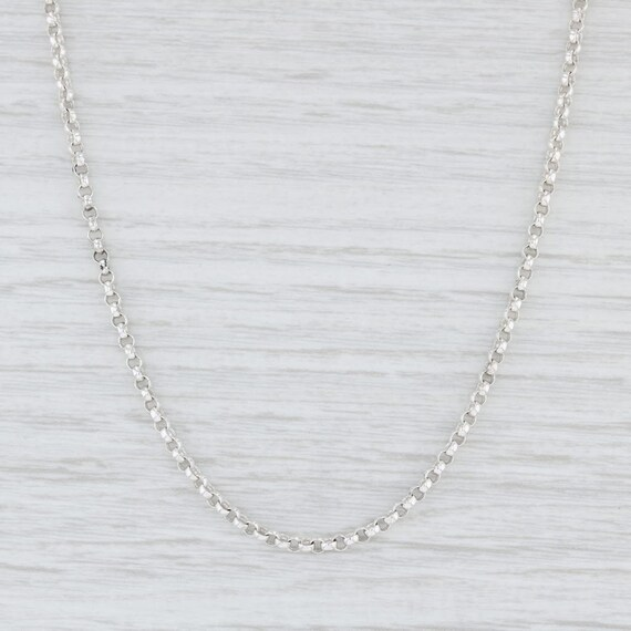 Slane & Slane Chain, Cable Chain Necklace, Toggle