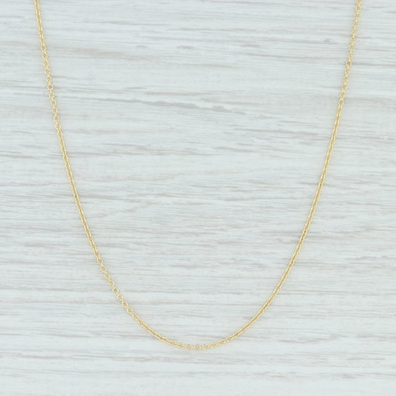 Cable Chain Necklace, Gold Chain Necklace, Gold Ca