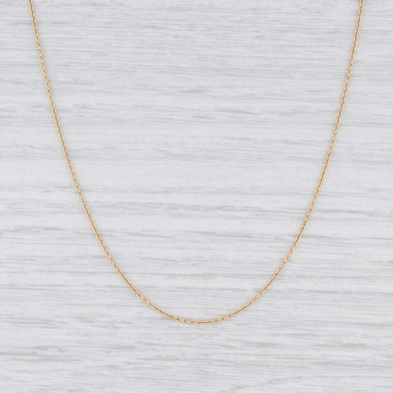 "Cable Chain Necklace, Gold Chain, 16"" Chain Neckla"