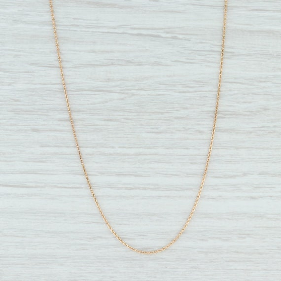 Cable Chain Necklace, Gold Chain Necklace, Gold Ca