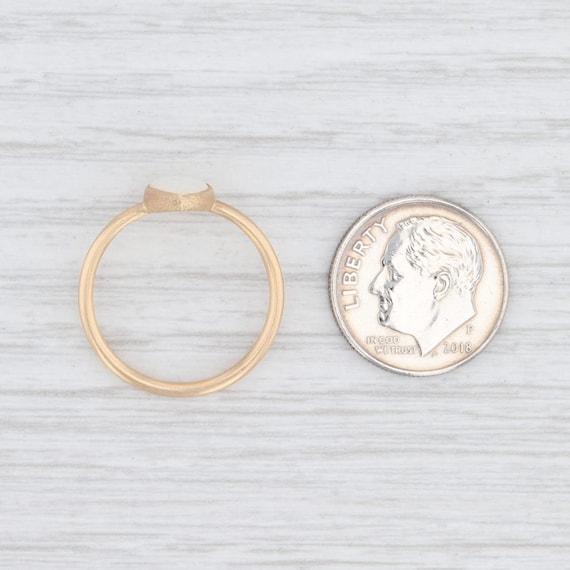 Opal Teardrop Ring, 18k Gold Ring, Yellow Gold Ri… - image 8