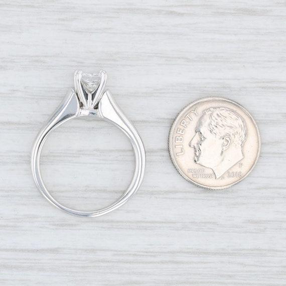 Diamond Engagement Ring, Princess Cut Ring, Solit… - image 6