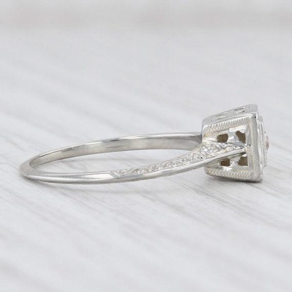Vintage Diamond Ring, Ostby Barton Ring, Diamond … - image 5